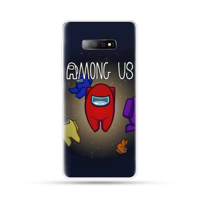 among us funny game Phone Case For Samsung Galaxy S5 S6 S7 S8 S9 S10 S10e S20 edge plus lite