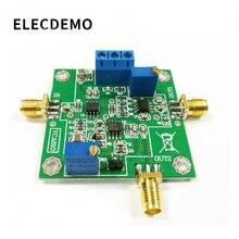 Усилитель VCA810, модуль AGC, широкополосный контроль напряжения, светодиодная Плата усилителя усиления, регулируемая плата программирования DA