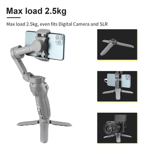 Image 2 - Ulanzi MT 10 Mini Tripod for Osmo Mobile 2 3 Gimbal Tripod Base Accessories Travel Vlog Tripod for Smartphone DSLR SLR Camera