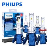 Philips-bombillas LED antiniebla H7 H4 H8 H11 H16 9005 9006 9012 HIR2 HB3 HB4 Ultinon Essential, faros de coche 6000K, 2 uds.