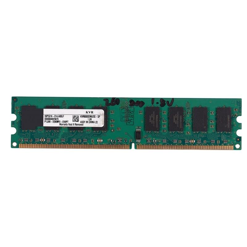HOT-2GB DDR2 PC2-6400 800MHz 240Pin 1.8V Desktop DIMM Memory RAM for , for AMD