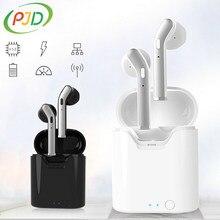 PJD TWS bezprzewodowe słuchawki sportowe Sweatproof douszne HiFi stereo HD połączenie Bluetooth 5.0 słuchawki 3H czas odtwarzania dla Xiaomi Samsung