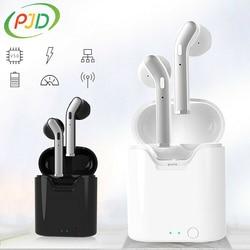 PJD TWS sans fil casque Sport anti-transpiration écouteurs HiFi stéréo HD appel Bluetooth 5.0 écouteur 3H temps de jeu pour Xiaomi Samsung