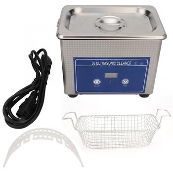 800ml Digital Ultrasonic Cleaner Jewelry Glasses Necklace Watch Cleaning Machine Mini Sonic Bath Cleaner 800ml ultrasonic cleaner household cleaning machine for watch jewelry glasses false teeth ultra sonic cleaner bath tank