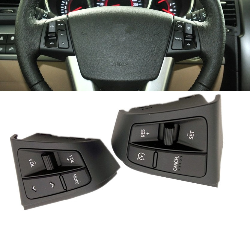 Steering Wheel RH Cruise Control Switch 1Pcs For Kia New Picanto 2015 2016