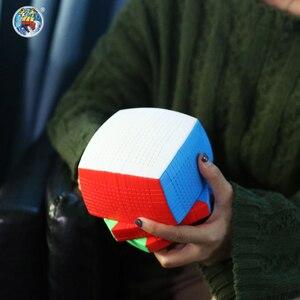 Image 4 - Shengshou Cubo de velocidad mágica Twist de 17x17x17 de 123mm, juguete educativo de aprendizaje para niños, Cubo mágico de 17x17
