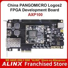 ALINX AXP100 :PANGOMICRO Logos2 PG2L100H PCIe SFP FPGA  Board