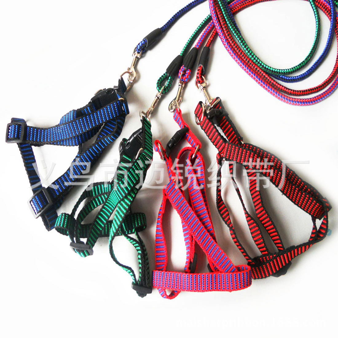 Pet Supplies 0.6 Cm Grid Round Rope Xiong Bei Tao Pet Traction Rope/with Dog Hand Holding Rope