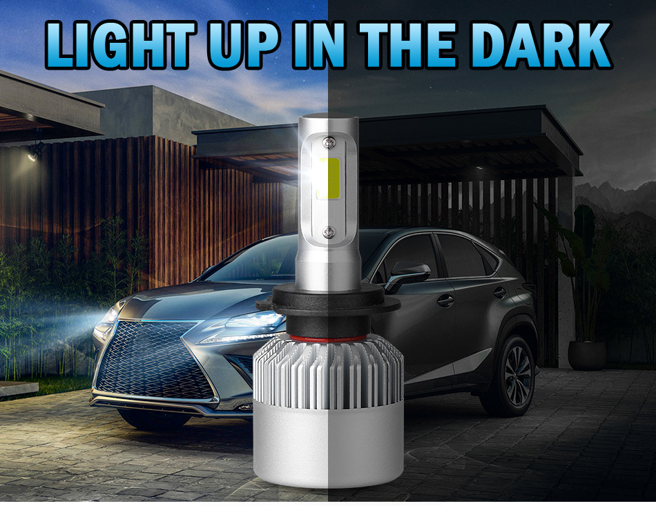 H341f7e852e1b44c995b4508f7a36ba27L hlxg 2X 3000K H4 LED H7 H11 H8 HB4 H1 H3 HB3 Auto S2 Car Headlight Bulbs 72W 8000LM Car Styling 6500K 4300K 8000K led automotivo