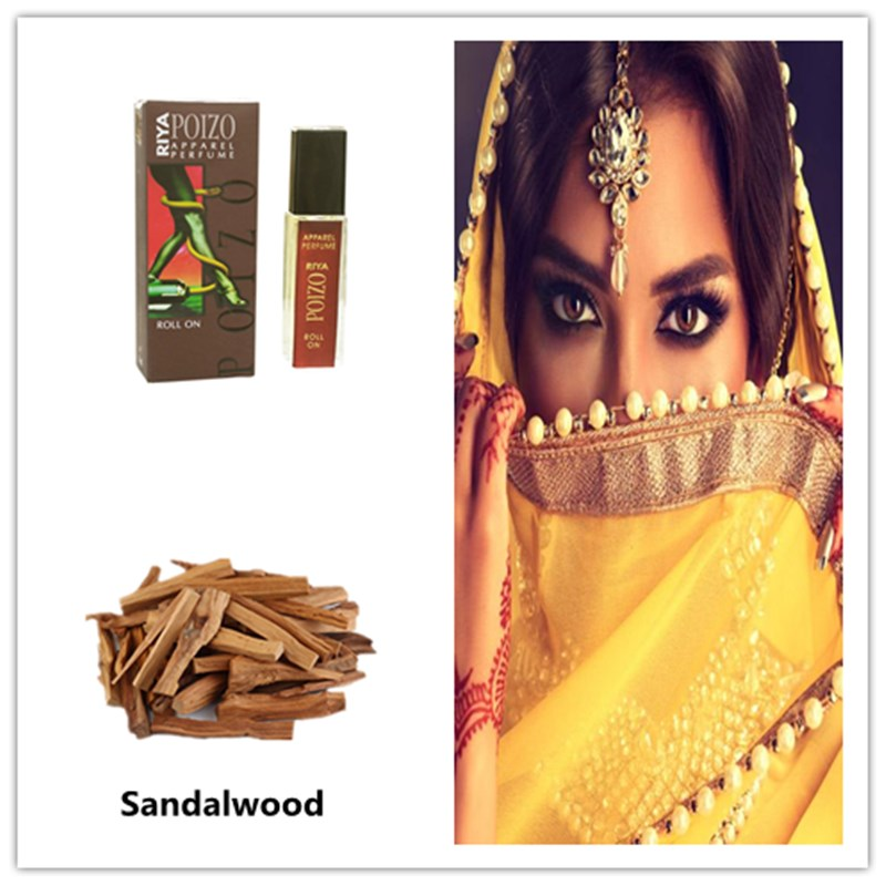 High Quality India Original Sandalwood Essential Oil Perfume Oil For Women Sandalwood Perfume 8ml