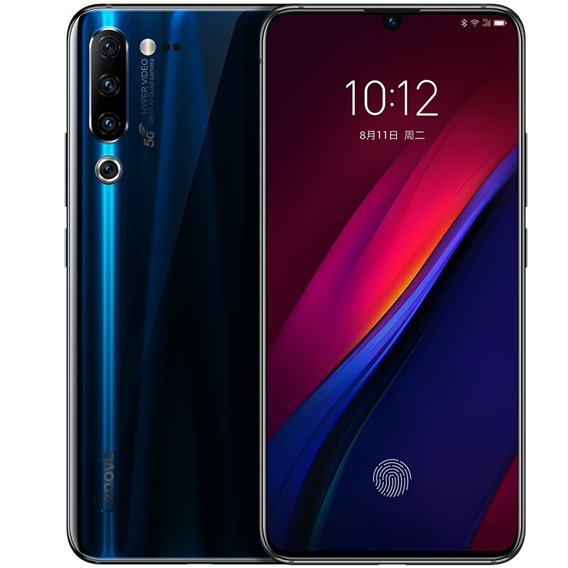 Chinese Version 5G phone Lenovo Z6 Pro 5G 6.39 Snapdragon 855 Liquid Cooling 2.0 Game Smartphone 8GB 256GB 48MP Quad Cameras 5G image