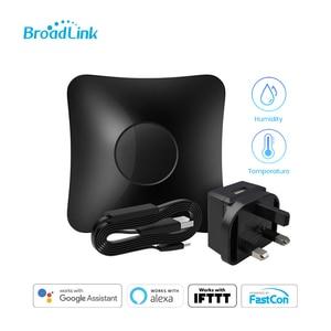 Image 3 - BroadLink RM4 Pro Wi Fi Smart Universal Remote Hub with HTS2 Temp and Humidity Sensor Smart Home Set