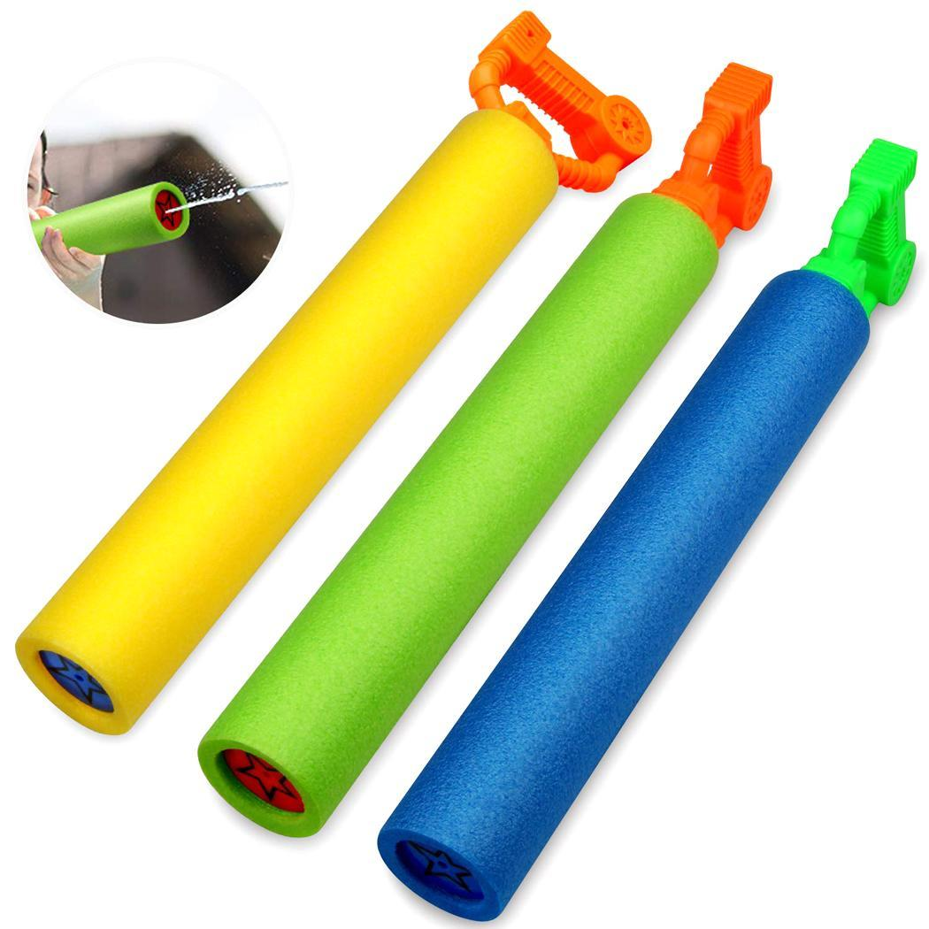 Kids Outdoor Sand Beach Interactive Game Summer Hand Pull Type Spray Water Toy Water Gun 7-14 Years Old
