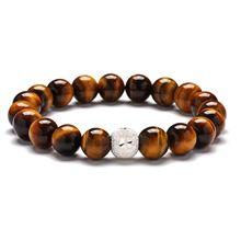Chakra11 Лава каменное Дерево жизни 7 энергия чакры баланс бусины молитва Будды Йога кулон эфирное масло диффузор браслет ювелирные изделия