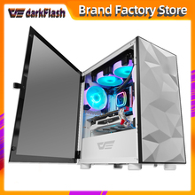 Computer-Case Chasis Gamer Htpc Tempered-Glass Desktop Completo Gaming Small DLM21 Matx/itx