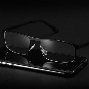 Image 2 - Occhiali ottici Full Frame Cerchio di Metallo Occhiali Telaio In Lega con Medico Prescrizione Occhiali Montatura Per Occhiali 5013