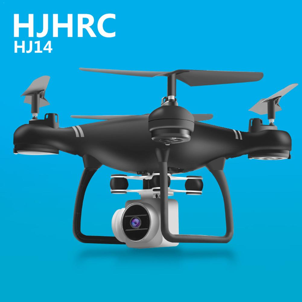 <font><b>HJ14W</b></font> Drone With Camera Live Video 720P HD 2 Million WIFI Camera Headless Mode Multi-function Four-axis Aircraft Remote control image