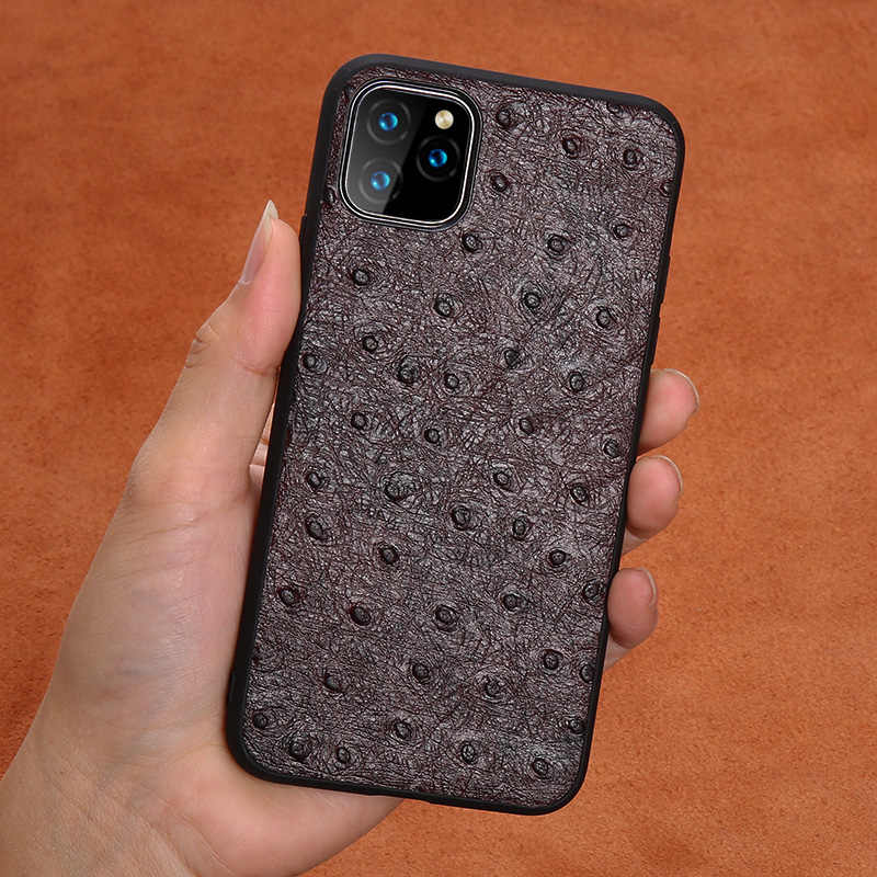 Echt Leer Case Voor Iphone 11 Lederen 7 Plus 8 Plus Telefoon Case Shockproof Back Cover Voor Iphone 11 Pro Max Xr xs 7 8 6 Splus