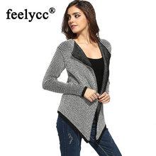 Свободный вязаный кардиган свитер для женщин свободный открытый