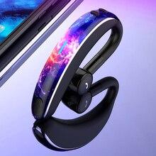 V7 Mini Ear-hook Wireless Bluetooth Business Earphone Voice Recognition