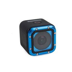 Image 3 - استبدال غطاء للعدسات ل GoPro بطل 5/4 جلسة غطاء عدسة سبائك الألومنيوم واقية ل GoPro Hero4 Hero5 جلسة اكسسوارات