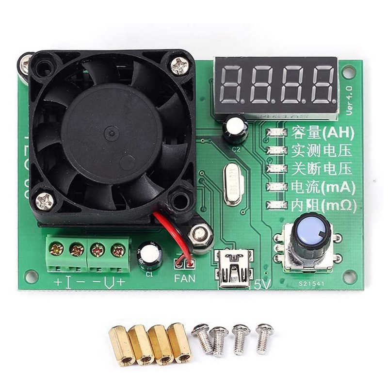Hot Digital Battery Capacity Tester 16w 200w Tec-06 Maximum Electronic Load 500ah 3.5a/20a Led Display With Battery Tester