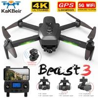 Nuovo Drone SG906 MAX/Pro2 GPS con Wifi FPV 4K telecamera a tre assi Gimbal Brushless quadricottero professionale evitare ostacoli Dron