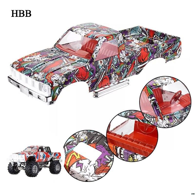 HG P407 1/10 2.4G 4WD RC Onderdelen Camouflage Auto Body Shell-in Onderdelen & accessoires van Speelgoed & Hobbies op  Groep 1