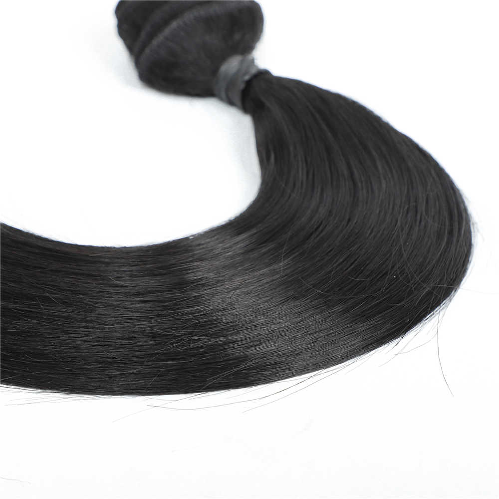 Live Beauty Straight Hair Bundles Wholesale Bulk 6Pcs/lot 200g Natural Color One Pack Full Head Synthetic Hair Double Weft Hair