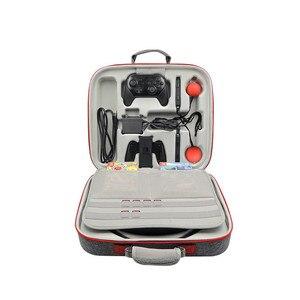 Image 2 - EVA Portable Hard Shell Schutz Lagerung Trage Tasche Große Kapazität Zipper Fall für Nintend Schalter Konsole/Dock/Fitness ring