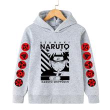 Narutos bluzy 3D bluzy dziecięce Kakashi Orochimaru Sasuke chłopcy odzież maluch Baby Boy ubrania bluzy japonia ubrania Anime tanie tanio 4-6y 7-12y 12 + y CN (pochodzenie) Wiosna i jesień Damsko-męskie moda COTTON Dobrze pasuje do rozmiaru wybierz swój normalny rozmiar