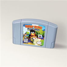 Diddy Kong Racing For 64 Bit Game Cartridge USA Version NTSC Format