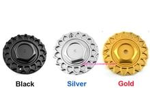 4pcs168mm מותאם אישית כסף שחור זהב גלגל מרכז Hub Cap כיסוי מכונית לוגו תג סמל עבור BBS שפת סגסוגת גלגל 9155L169 247L169