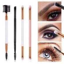 1 PCS Professional Eyes Makeup Eyebrow Brush Eyelash Eyeshad