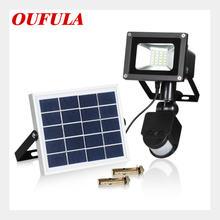 Настенный Точечный светильник на солнечной батарее усветильник
