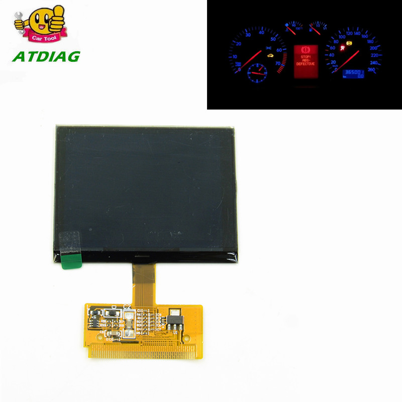2020 New VDO FIS Cluster LCD DISPLAY For AD A3 A4 A6, VDO LCD easy install Low Price Free Shipping(China)