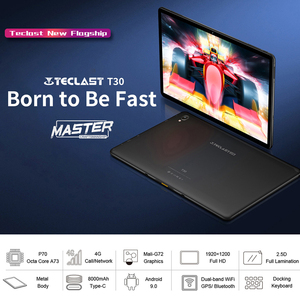 """Image 2 - Teclast T30 Tablet 10.1 """"Andriod 9.0 4G di Chiamata di Telefono 1920x1200 MTK P70 4GB di RAM 64GB di ROM 8000mAh Doppia Fotocamera GPS Tipo C Compresse PC"""