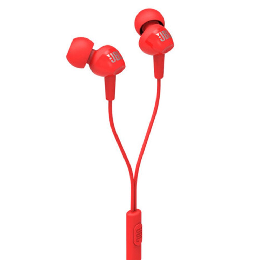 Original JBL C100Si Stereo Wired Headphones Deep Bass Music Sports 3.5mm Headset In-ear Earbuds With MIC By HARMAN 4