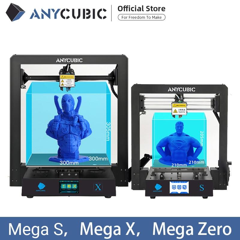 ANYCUBIC I3 Mega Mega S Mega Zero Mega X 3D Printer Kit Large Printing Plus Size Full Metal Frame 3D Drucker Impresora|3D Printers|   - AliExpress