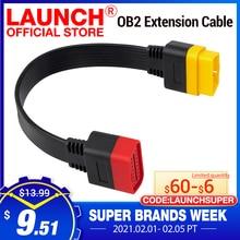 Lancio del cavo di prolunga OBD per X431 V/V/PRO/PRO 3/Easydiag 3.0/Mdiag/Golo connettore OBD2 principale esteso 16pin maschio a femmina