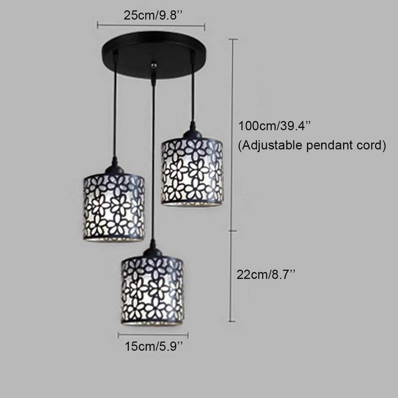 Bắc Âu hiện đại Mặt Dây Chuyền Đèn Gắn Xe Đạp Sắt Rỗng Ra Đèn Chùm Mặt Dây Đèn Trang Trí Nhà Cửa cho Phòng Ăn Phòng Ngủ Shop Thanh
