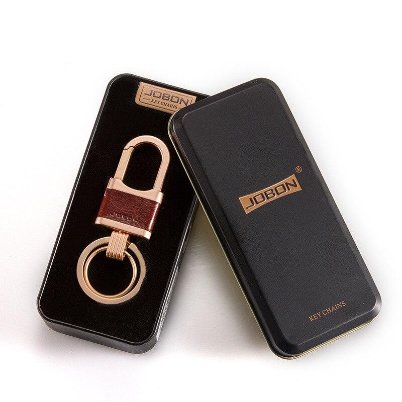 Car Keychain Lock Keyring High-end Auto Styling Metal Men Key Ring Gift For Opel BMW Harley Lexus Volvo Ferrari Subaru Skoda KIA
