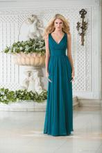 2018 Vintage V Neck Chiffon Plus Long Mother's Custom Lace Hollow Back Formal Wear Vestido De Soiree mother of the bride dresses