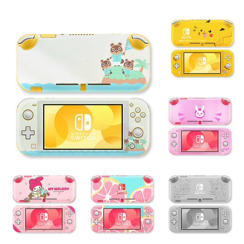 RETROMAX Stickers For Nintendo Switch Lite Skin Stickers Protective Stickers For Nintend Switch Lite Pikachu Cute Skin