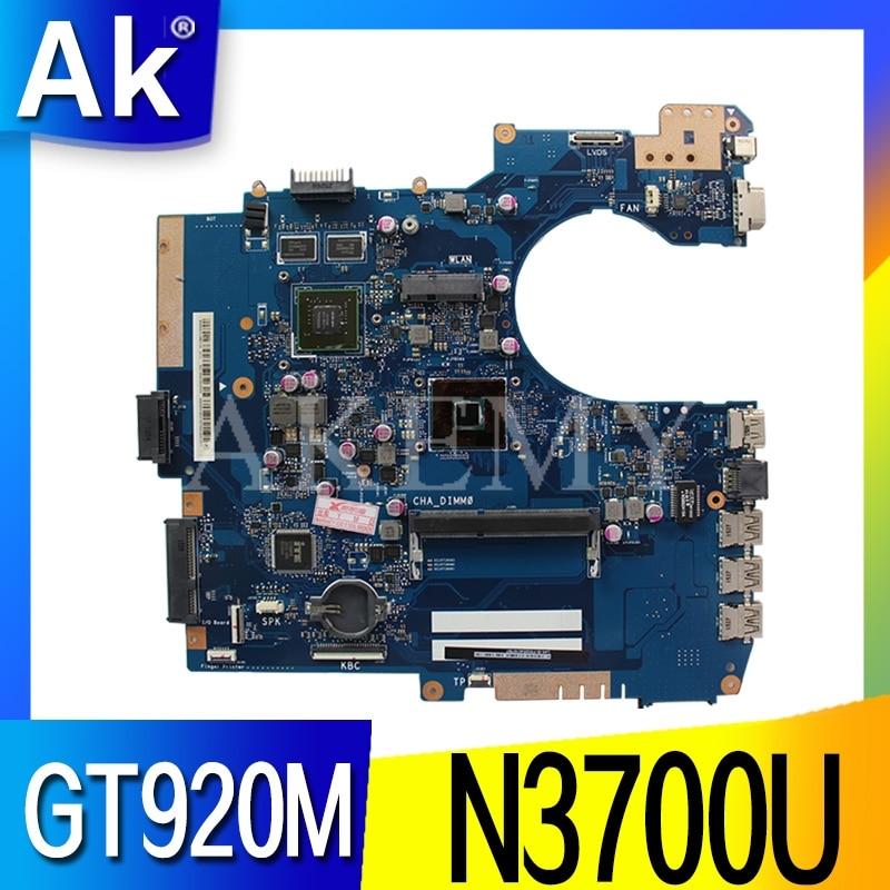 P552SJ Motherboard N3700U GT920M For ASUS P552SJ PU552SJ PRO552S P552S PU552S Laptop Motherboard P552SJ Mainboard
