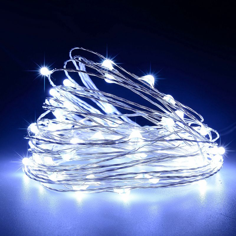 2M 20 LED Wine Bottle String Lights Cork Shaped Glass Stopper Lamp Christmas DIY