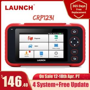 Image 1 - LAUNCH X431 CRP123i OBD OBD2 Coder Reader Scanner 4 System Diagnostic OBD 2 Auto Scanner Car Diagnostic Tool Automotive Scanner