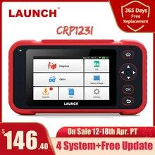 Launch X431 CRP123i Obd OBD2 Coder Reader Scanner 4 System Diagnostic Obd 2 Auto Scanner Auto Diagnostic Tool Automotive Scanner