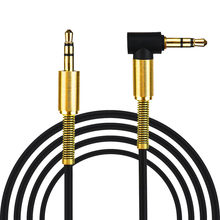 3.5mm Jack Audio Cable Jack 3.5 mm Male to Male Audio Aux Cable For Samsung S10 Car Headphone Speaker Wire Line Aux Cord zz5(China)