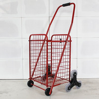 Warenkorb tragbare falten trolley -